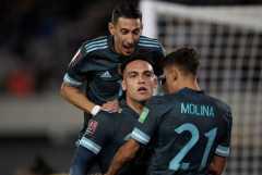 Gol tunggal Lautaro Martinez bawa Argentina menang tipis 1-0 atas Peru